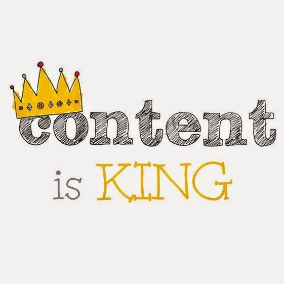 Content is King, helping you create quality content