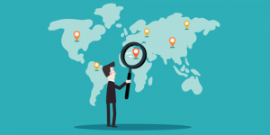 international seo targets a broader audience in multiple countries